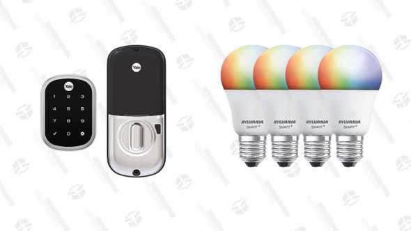 Never Get Locked Out of Your House or Leave the Lights On Again With Up to 40% Off Smart Home Products Today