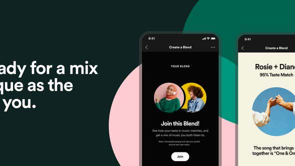 New Spotify Feature Will Make You and Your BFF a Playlist of Songs You'll Both Like