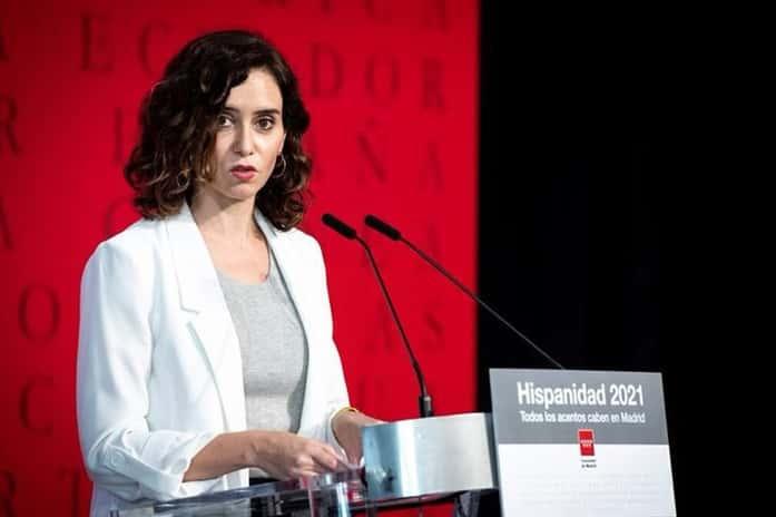 Díaz-Ayuso reivindica la hispanidad y dice que «el indigenismo es el nuevo comunismo»