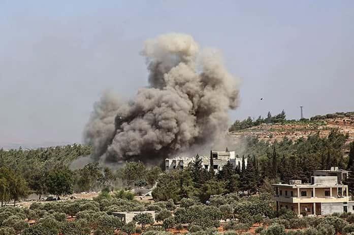 Ataque ruso deja al menos 11 milicianos proturcos muertos en el noreste de Siria, dice ONG