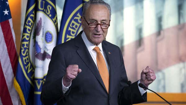 Chuck Schumer calls for Louis DeJoy probe over campaign donations