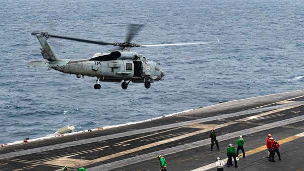 Navy searching for missing sailor in Arabian Sea