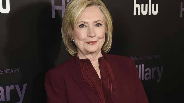 Hillary Clinton, apparently zee law, kindly giving 'life back' to vaccinated