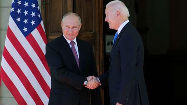 Joe Biden, Vladimir Putin arrive for high-profile summit at Geneva villa