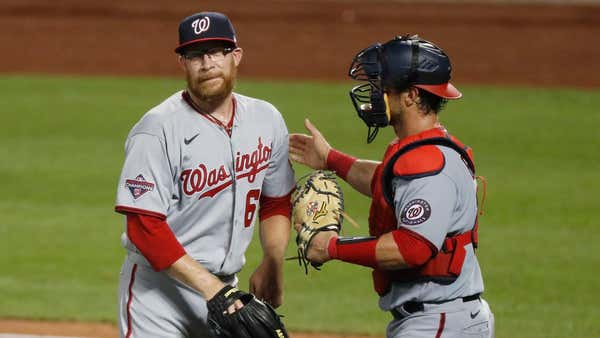 Nationals place Sean Doolittle on 10-day injured list