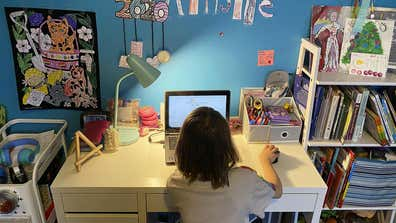 Northern Virginia starts first day of school online with few technical issues