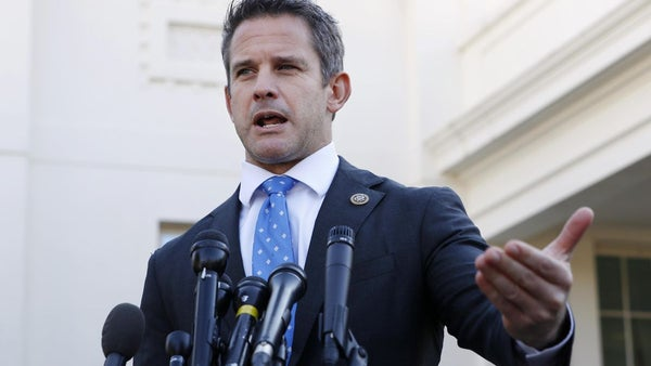 Adam Kinzinger rips Donald Trump after Jeff Sessions loss