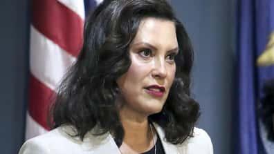 Gretchen Whitmer finds Trump event 'very distressing'; fine with Biden rally