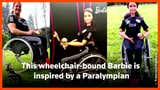 Chilean Paralympic athlete inspires new Barbie doll