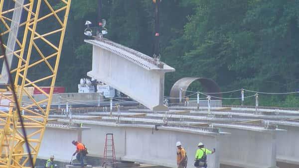 Progress continues on US 231 bridges