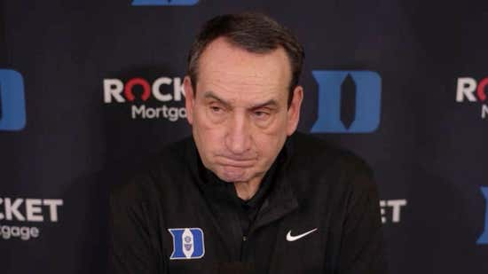 Coach K reflects on his losing seasons at Duke — and how they've led to more winning