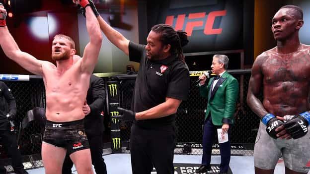 UFC 259 results: Jan Blachowicz hands Israel Adesanya first career loss as Aljamain Sterling beats Petr Yan via DQ
