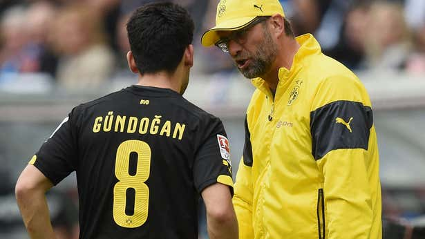 Ilkay Gundogan recalls 'intense' argument with Jurgen Klopp at Borussia Dortmund