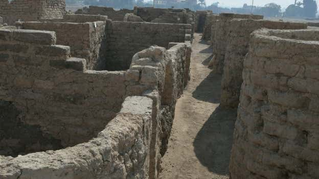 'Lost golden city' from 3,000 years ago unearthed in Egypt in 'biggest discovery since King Tut's tomb'