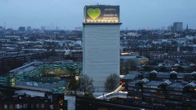 Flames climbed Grenfell cladding twice as quickly as expected due to 'typo' in safety test