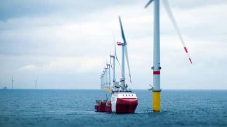 Los buques electrificados en el Reino Unido pronto podrían cargar en alta mar gracias a una nueva instalación