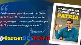 Carnet de la Patria celebra su 4to aniversario con un nuevo bono (+Monto)