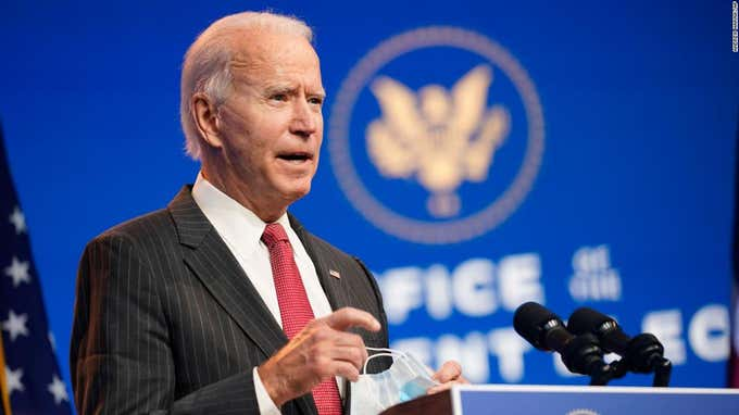 Here's What President-Elect Joe Biden Wants In A Second Coronavirus Relief Package