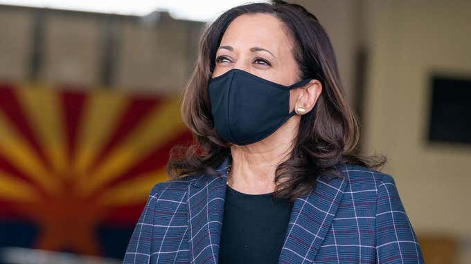 Kamala Harris Reaches Out to Nurse And Frontline Workers On Thanksgiving