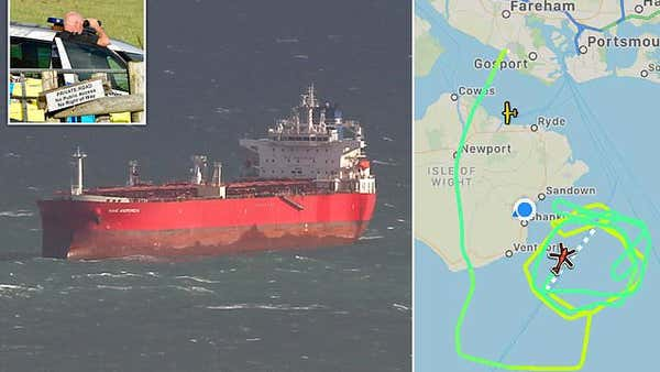 SBS retake 42,000-ton oil tanker off the Isle of Wight in just SEVEN MINUTES