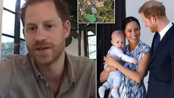 Prince Harry its impossible to find rugby balls in the US for Archie
