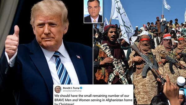 TALIBAN hopes Trump will 'win the election' but the president's campaign rejects the endorsement