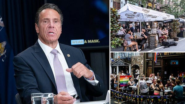 Andrew Cuomo clamps down on NYC bars and restaurants