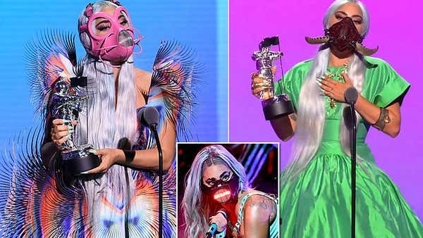 MTV VMAs 2020: Lady Gaga leads the night with five moonpersons including Tricon Award
