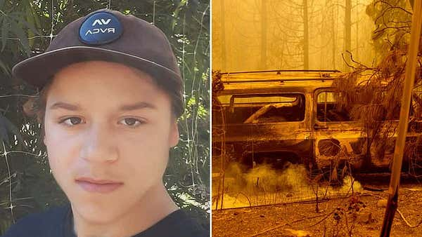 PICTURED: Victim of California wildfire identified as 16-year-old student