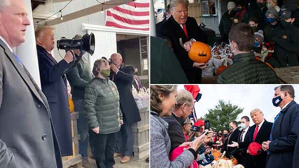 'They don't know what's going to hit them!' Trump rides through Maine in search of an electoral vote