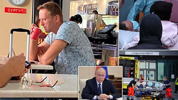 Novichok poisoning: Alexei Navalny comes OUT of induced coma