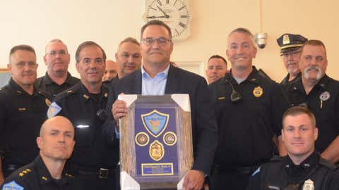 Town bids farewell to Billerica Police Chief Daniel Rosa as he heads into retirement