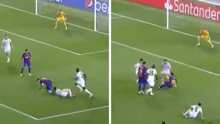 Messi's bumbling and stumbling goal is the greatest sports highlight of 2020