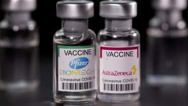 Vacunación mixta: Estudio confirmó las ventajas de combinar una dosis de Pfizer con otra de AstraZeneca
