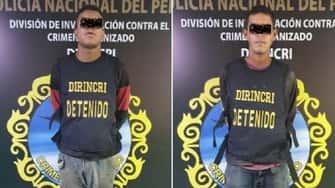 Policía peruana atrapó a dos venezolanos robando en una gasolinera