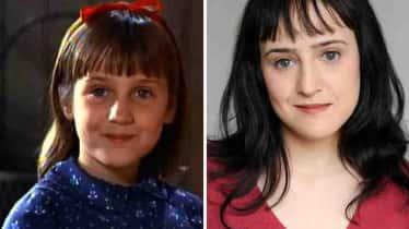 """Descubrieron extraña enfermedad en la actriz que interpretó a """"Matilda"""" (+Fotos)"""