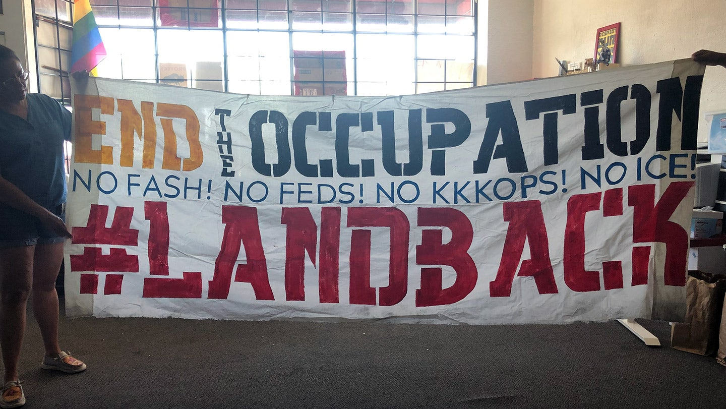 The Red Nation Wants Its Land Back
