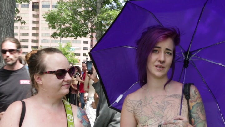 Free the Nipple! Denver Go Topless Day Draws Hundreds of