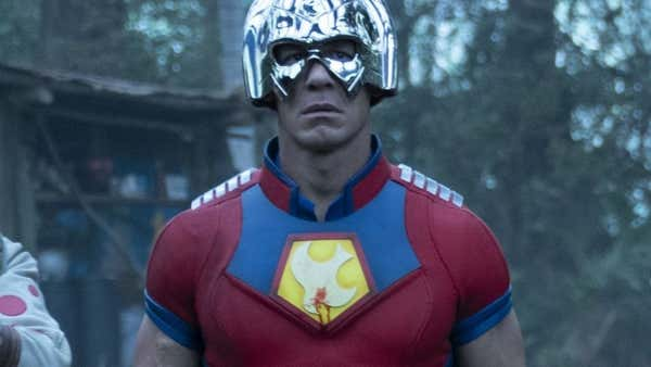 The Suicide Squad Premiere John Cena Peacemaker Costume