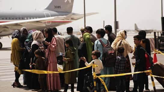 ¿Qué pasa con las evacuaciones de afganos?