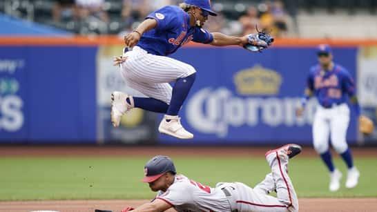 Lindor activo en triunfo de Mets sobre Nacionales; Soto liga jonrón 22