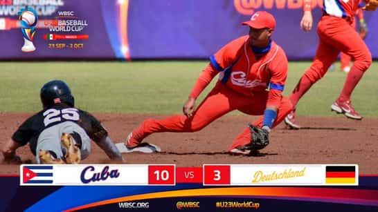 Seis jugadores cubanos desertan del equipo en el Mundial sub'23 de béisbol