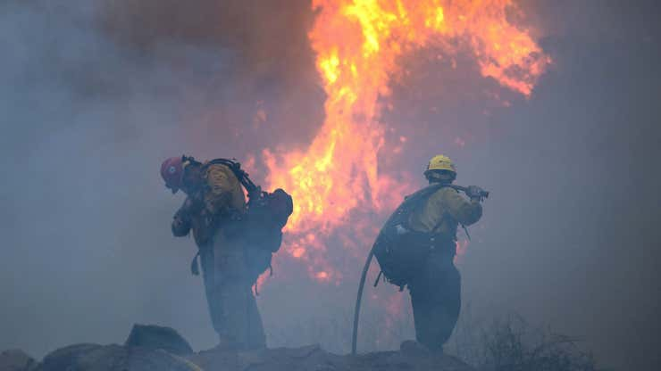 West Coast on High Alert as Wildfires Continue to Burn