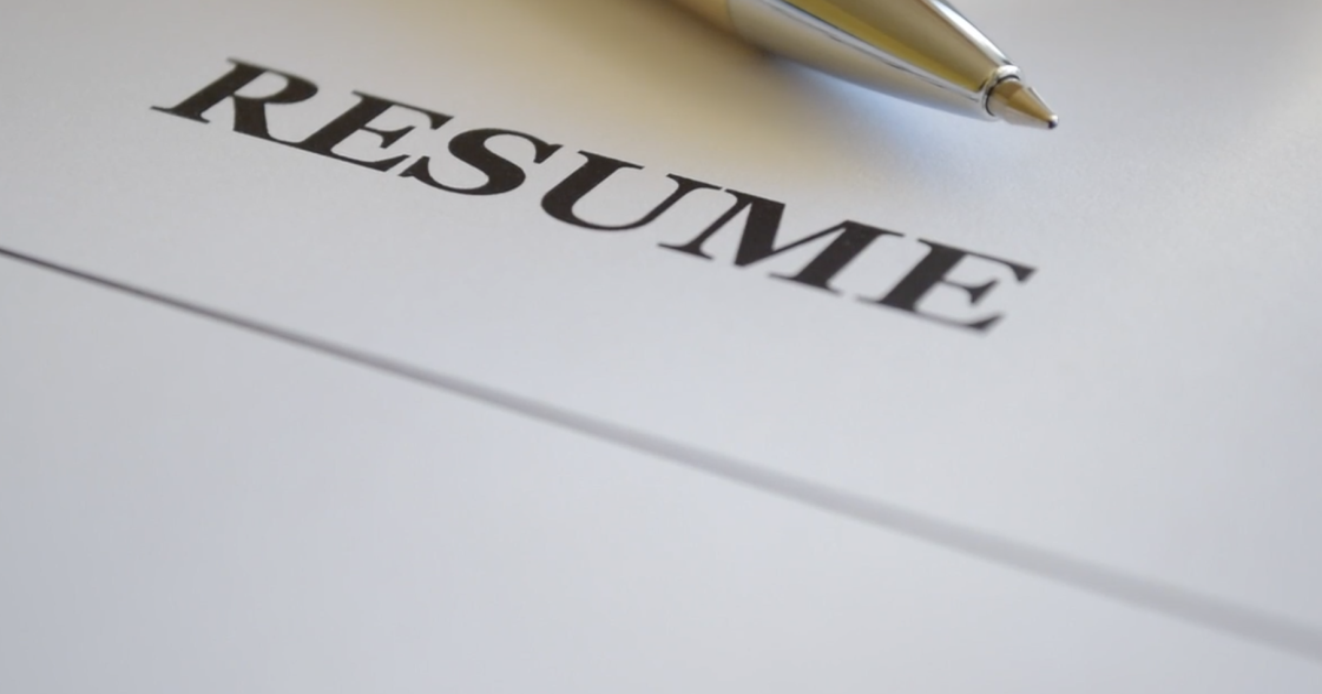 resume job application employee seeker work
