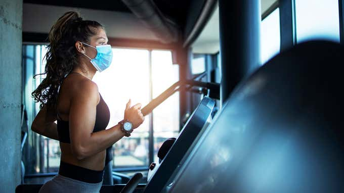 Yes, Working Out With a Mask On Is Possible—Here's How Experts Recommend Doing It Safely and Effectively