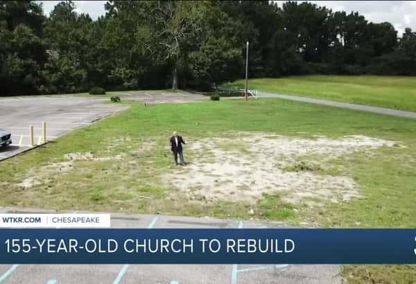 155-year-old church to rebuild