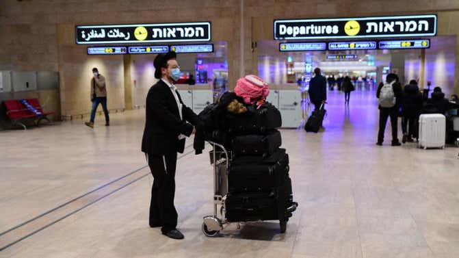 COVID: Only people jabbed in Israel are to be exempt from quarantine