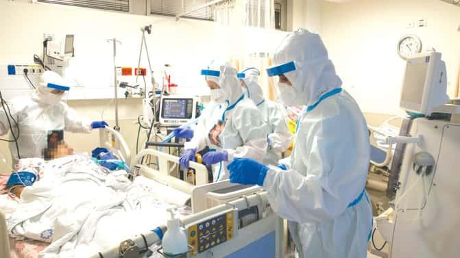 Coronavirus peak: 993 patients in serious condition on day 3 of closure