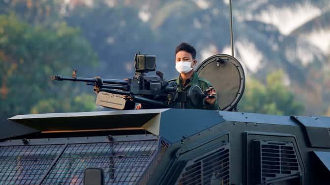 Myanmar junta: Israeli drones, hacking software used on protesters - NYT