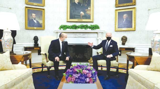 Ex-Mossad chief: Use positive Bennett-Biden meeting to stop Iran